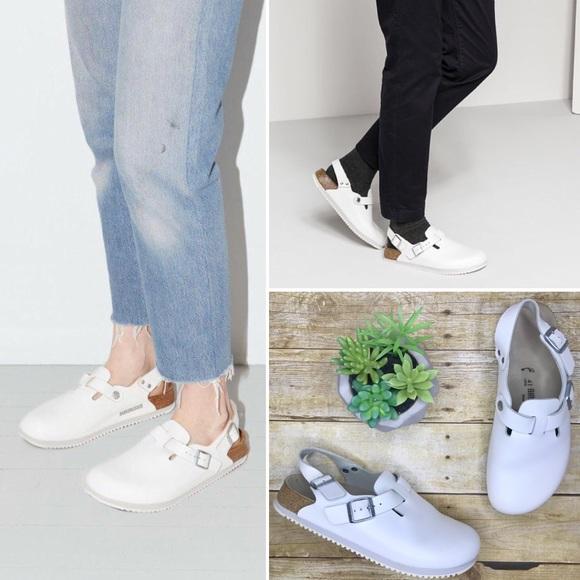 737a10d2ee6 Birkenstock Shoes - ⬇ Birkenstock Tokyo super grip white sandals